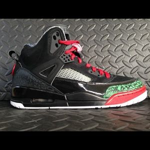 Jordan Spizike Black Varsity Red new multi sizes
